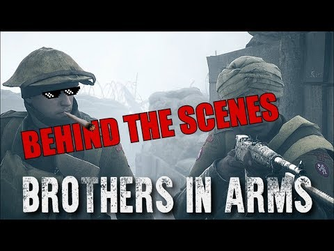 Battlefield 1 - Brothers in Arms Short Film BEHIND THE SCENES!