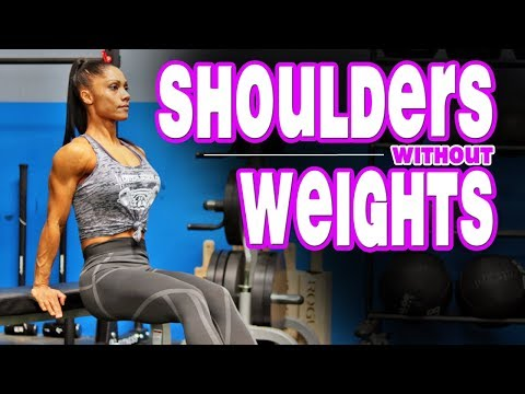 BEST Body Weight Shoulder Exercises (Workout Without Weights)