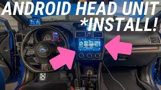 Awesome Subaru WRX & STi Smart Headunit Radio Install! Seicane