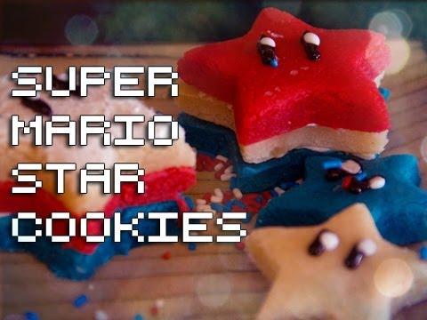 Super Mario Star Cookies
