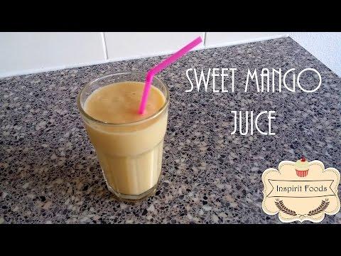 Mango Juice Recipe SUMMER DRINKS