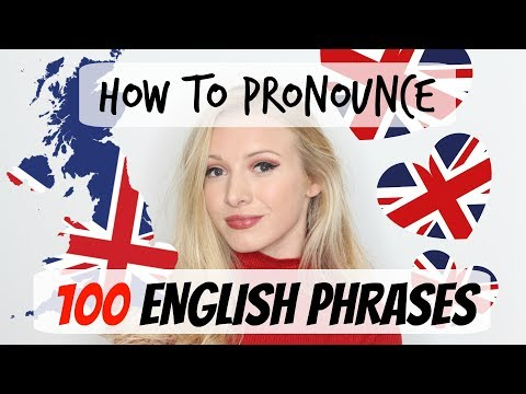 100 English phrases pronunciation and vocabulary lesson #Spon