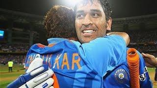MS Dhoni Worldcup Mashup - Rajnikanth ANNAMALAI Version