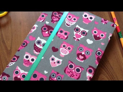 Make a Cute Fabric Agenda Cover - DIY Crafts - Guidecentral