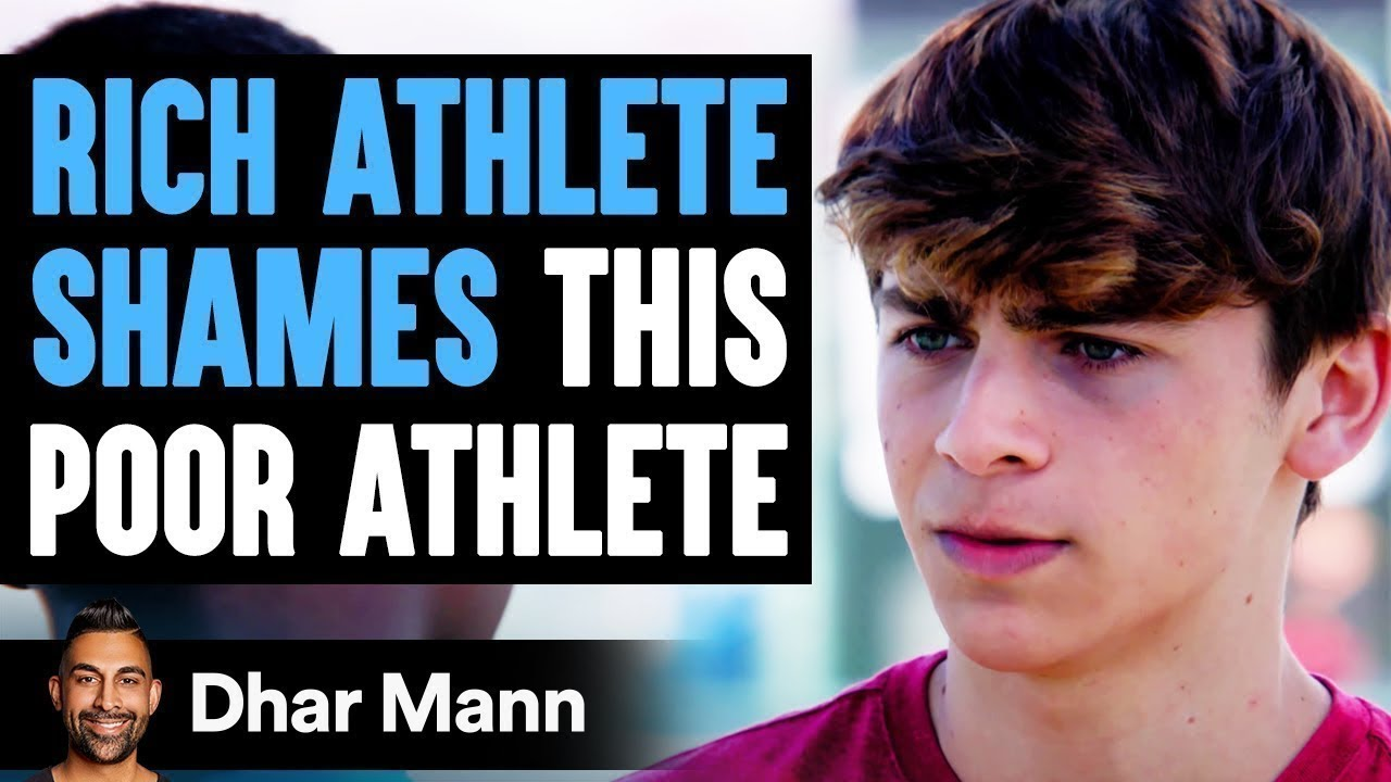 Rich Athlete SHAMES This POOR ATHLETE, What Happens Next Is Shocking | Dhar Mann