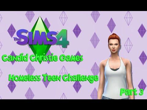 The Sims 4 Homeless Teen Challenge   Weird Sleeping Schedule!