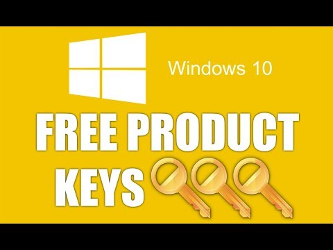 How To Get Windows 10 Product Key - All Keys Are In Video