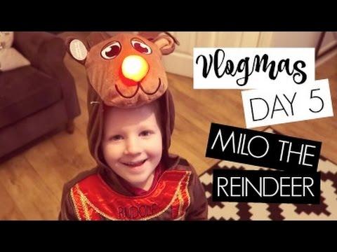 VLOGMAS DAY 5 / Milo The Reindeer