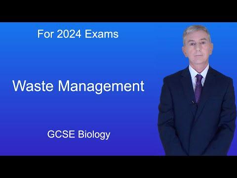 GCSE Science Biology (9-1) Waste Management