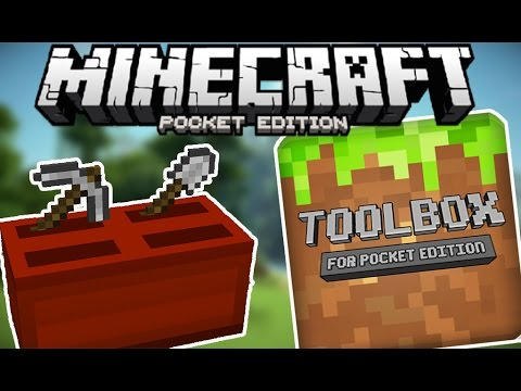 TOOLBOX for Minecraft Pocket Edition Mod Review