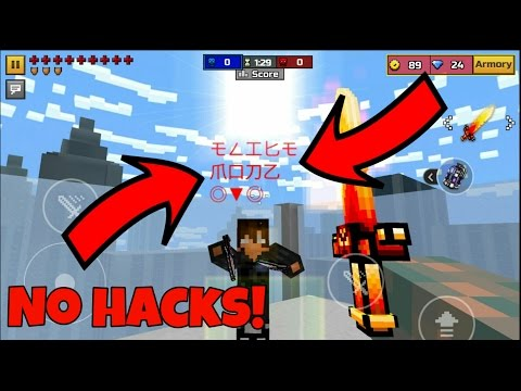 How to Glitch Your Name In Pixel Gun 3D!!