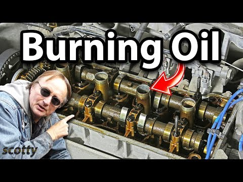 How to Fix Engine that Burns Oil for 10 Bucks