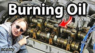 Fixing Oil Burning Engine For 10 Bucks