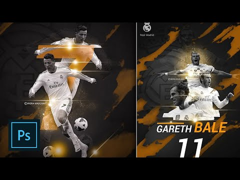 Create a Football Sport Poster in Photoshop CC