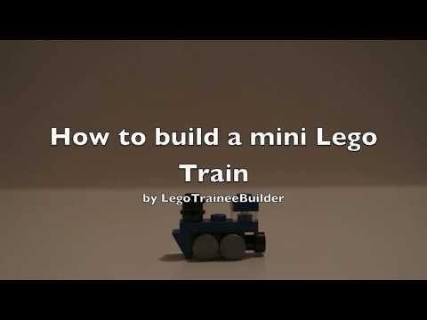 How to build a Mini Lego Train