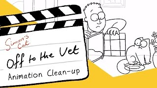 Simon's Cat 'Off to the Vet' - Clean Up