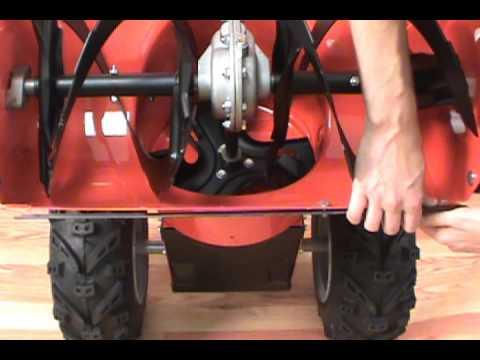 Replacing the Scraper Blade - Simplicity Snow Blower
