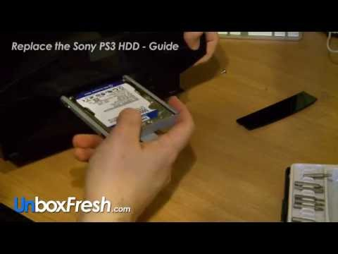 Replace your 80GB PS3 Phat with a 500GB or 1TB Harddrive - Guide