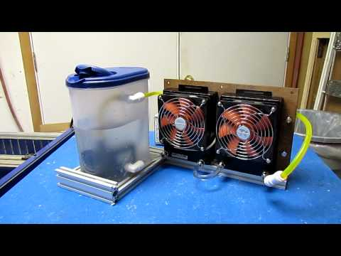 DIY CO2 Laser Tube Cooler