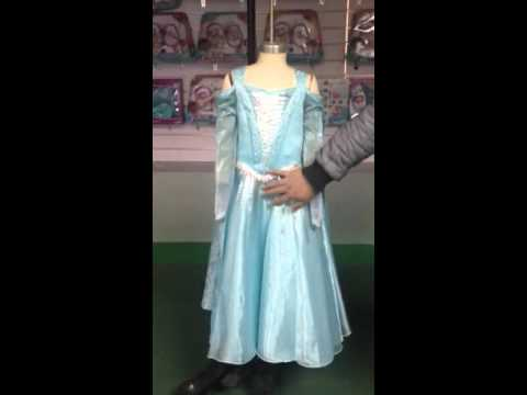 Elsa light up costume with Cape