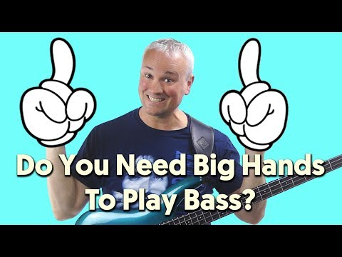 Do You Need Big Hands To Play Bass Guitar?