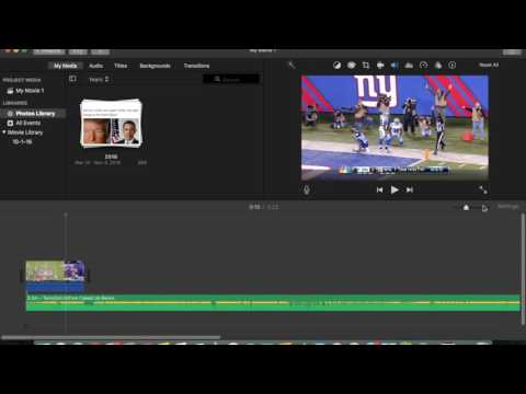 How to Make a Sports Edit Using iMovie - Full Tutorial