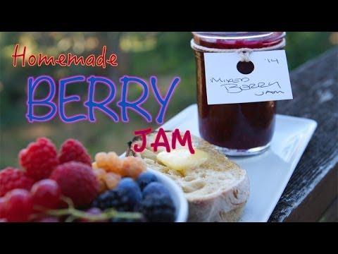 Homemade Mixed Berry Jam  |  Fresh P