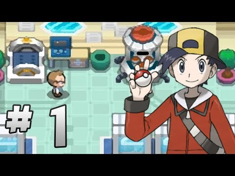 Let's Play Pokemon: HeartGold - Part 1 - A new beginning!