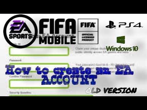How to create a ea account