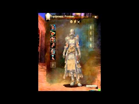 Guild Wars 2 Complete Female Light Armor Models - PvP and PvE