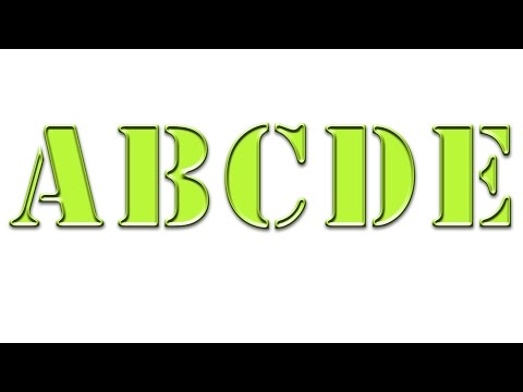Photoshop tutorial-Groove text effect