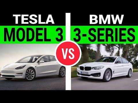 Can Tesla Model 3 Beat BMW 3 Series?