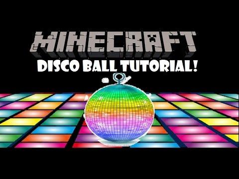 Minecraft | Redstone #3 | How to make a Disco Ball