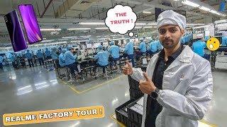 How Realme Smartphones Are Made - Realme Factory Tour | Step By Step !