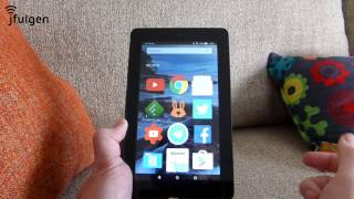 kindle fire hd launcher no root
