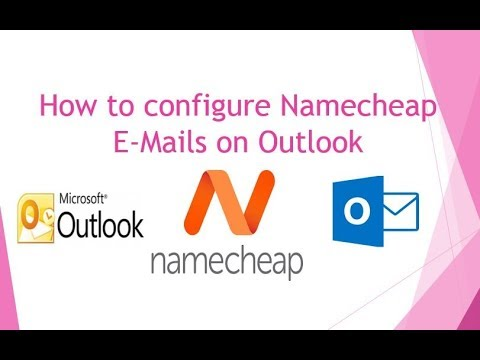 How to configure Namecheap Email on Outlook