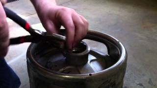 How To Open And Reassemble A Sanke Keg