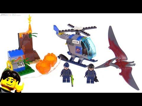 LEGO Jurassic World Juniors Pteranodon Escape review! 10756
