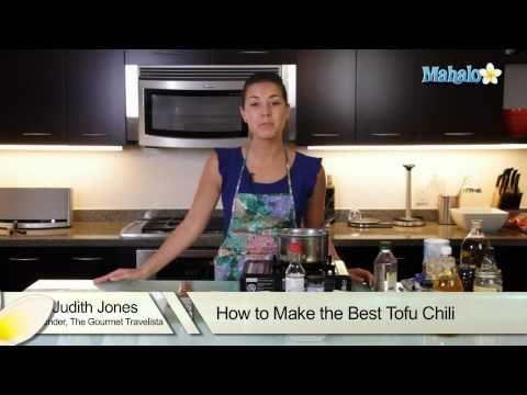 How to Make the Best Tofu Chili