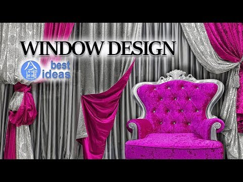 💗 Window Design – Best Curtains for Living Room