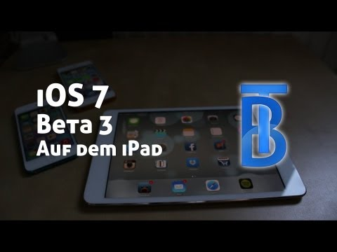 Preview: iOS 7 Beta 3 auf dem iPad mini [German/Deutsch]