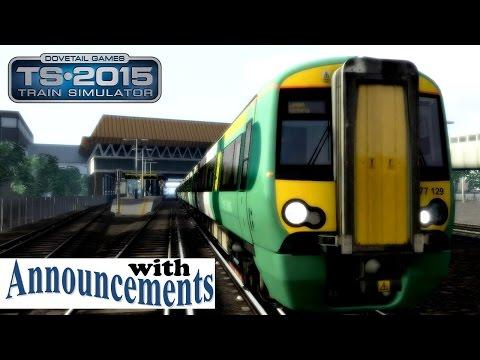 **2018 Train Simulator** Brighton - London Victoria with Announcements