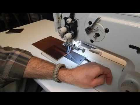 How to Make Field Notebook with Sewing Machine Binding