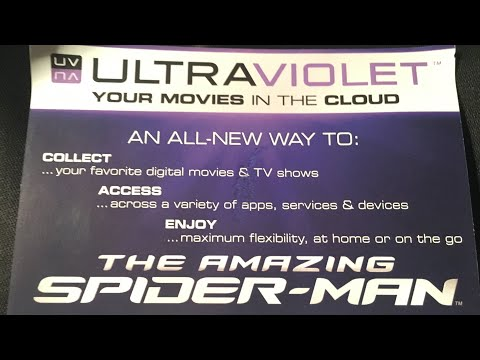 Free Ultraviolet Code - The Amazing Spider-Man