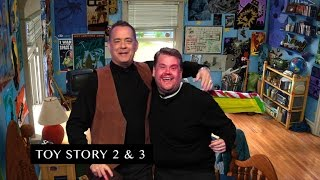 James Corden and Tom Hanks Act Out Tom