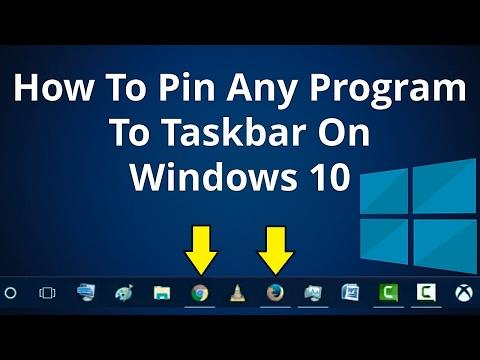 4 Ways On How To Pin Any Program To Taskbar On Windows 10