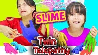 Tiana slime glove challenge