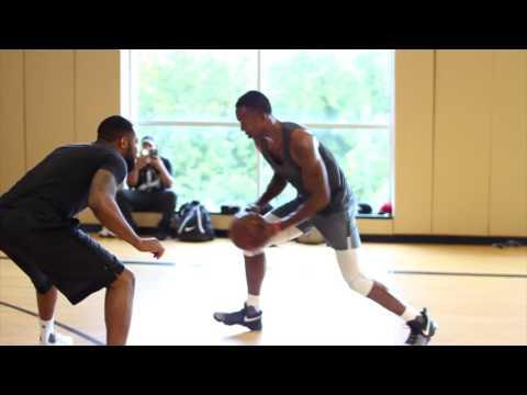 Von Wafer Basketball Training Session In Atlanta
