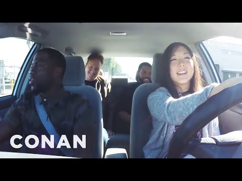 watch Ice Cube, Kevin Hart And Conan Help A Student Driver  - CONAN on TBS