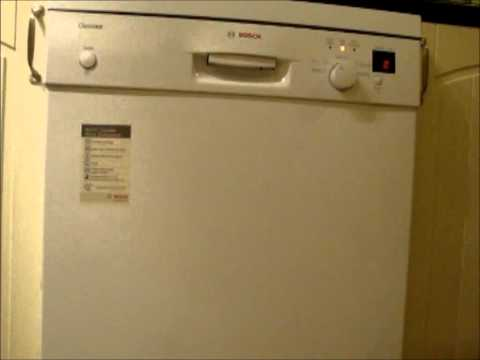 Bosch SGS45C12 Dishwasher : adjusting the salt intake on your Bosch dishwasher